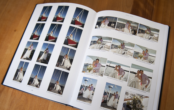 Photo proof books